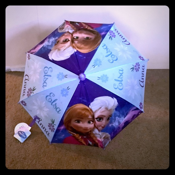 Disneys frozen 2 Other - 🆕 FROZEN 2 Elsa Anna Kids winter umbrella 🎁